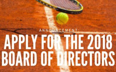 Board of Directors Application 2018