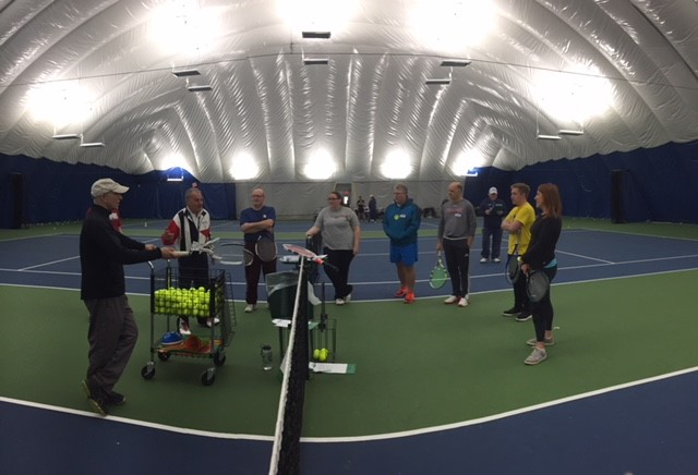 USTA RI Holds 4th Annual Coaches Clinic