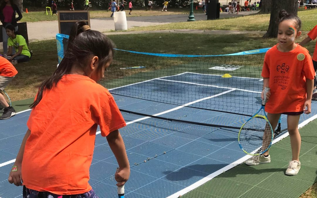 Tennis Joins Central Falls Summer Kick-Off